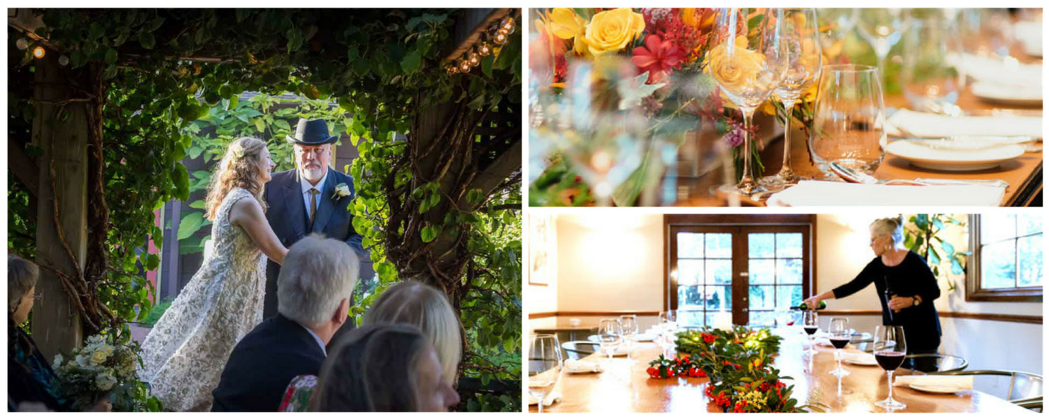 Point Reyes Weddings, Receptions & Rehearsal Dinners